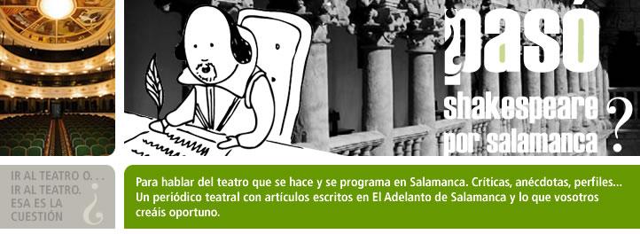 ¿Pasó Shakespeare por Salamanca?