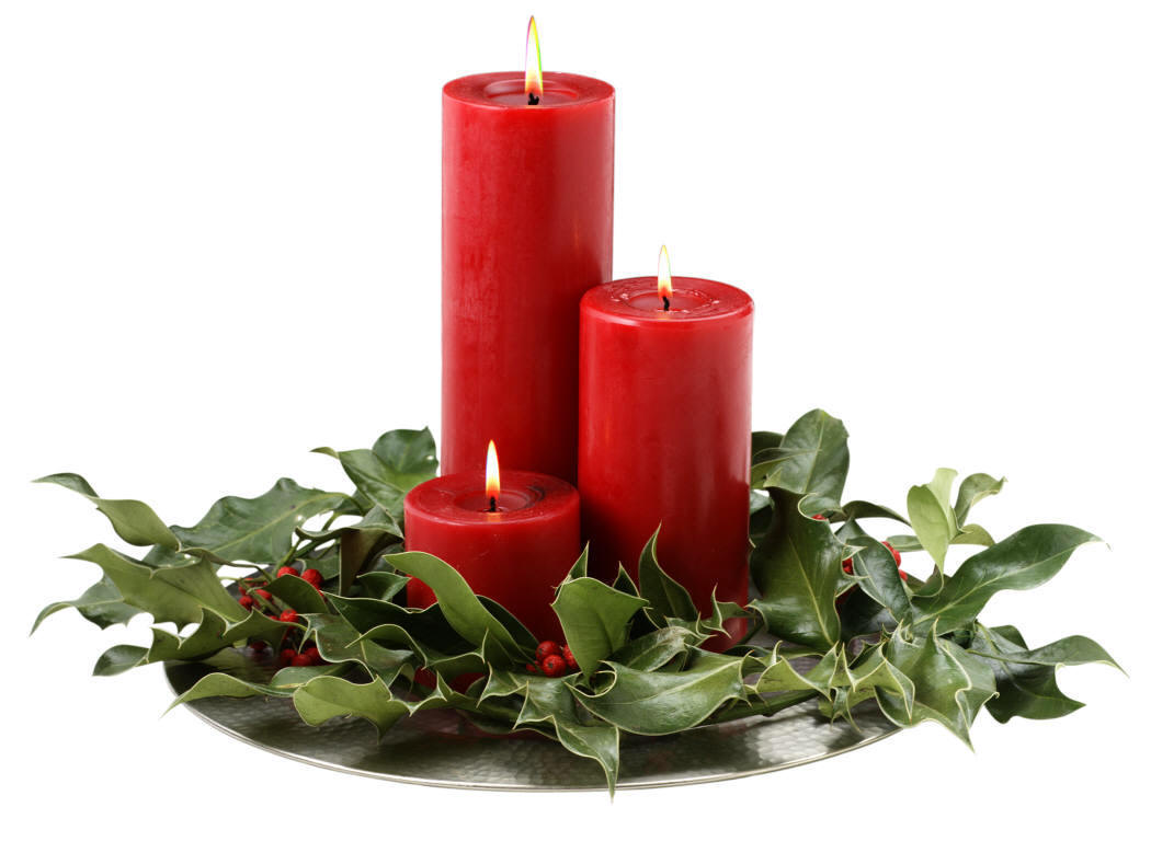 christmas candle decoration - Christmas Candle Decorations