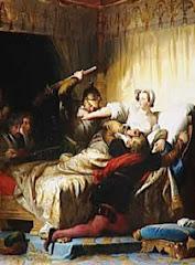 Massacre de la Saint Barthélemy, dans l'appartement de la Reine de Navarre