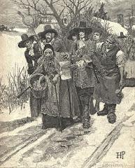 """Arrestation d'une """"sorcière"""" à Salem"""