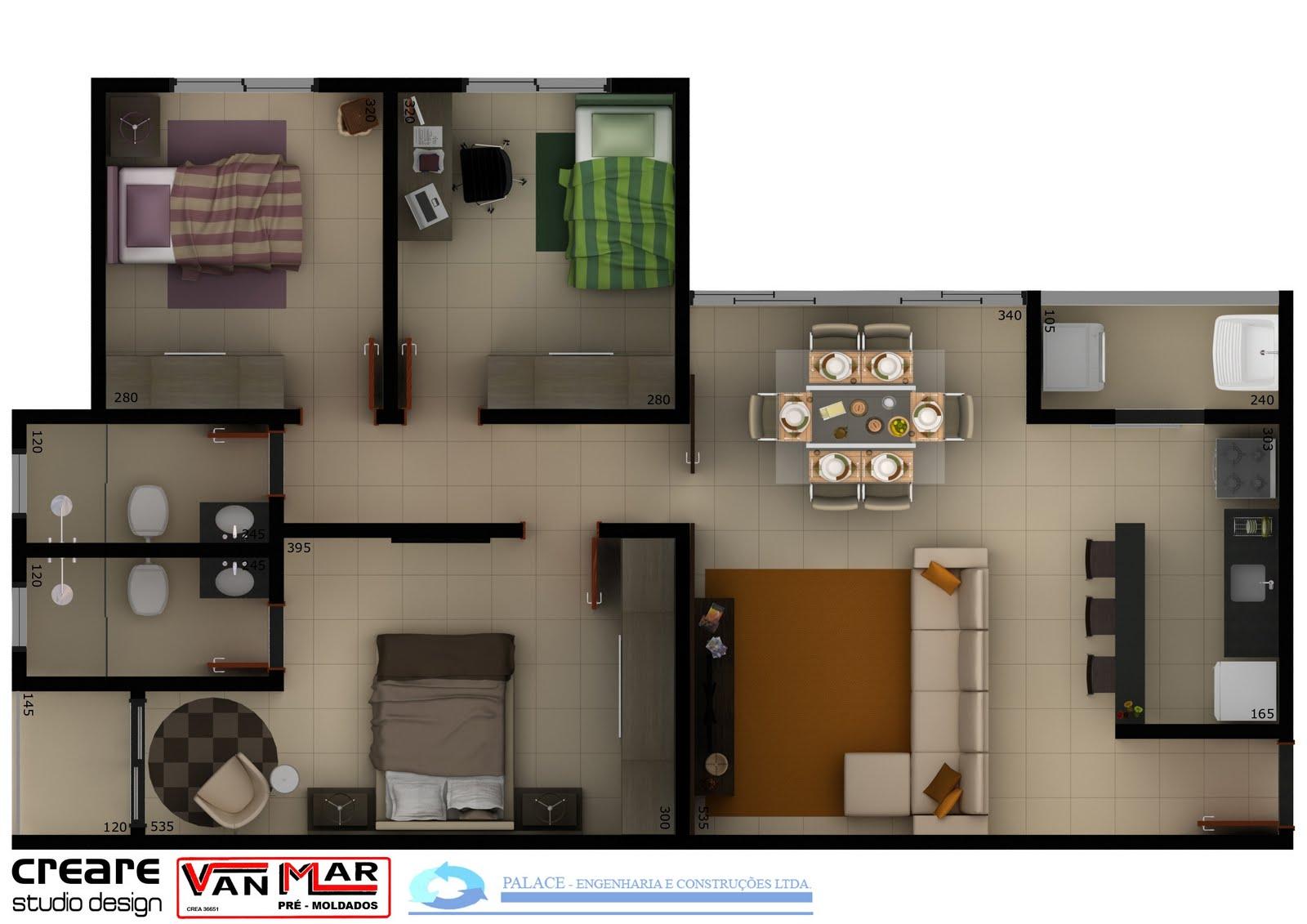 Creare studio design planta humanizada for Creare design