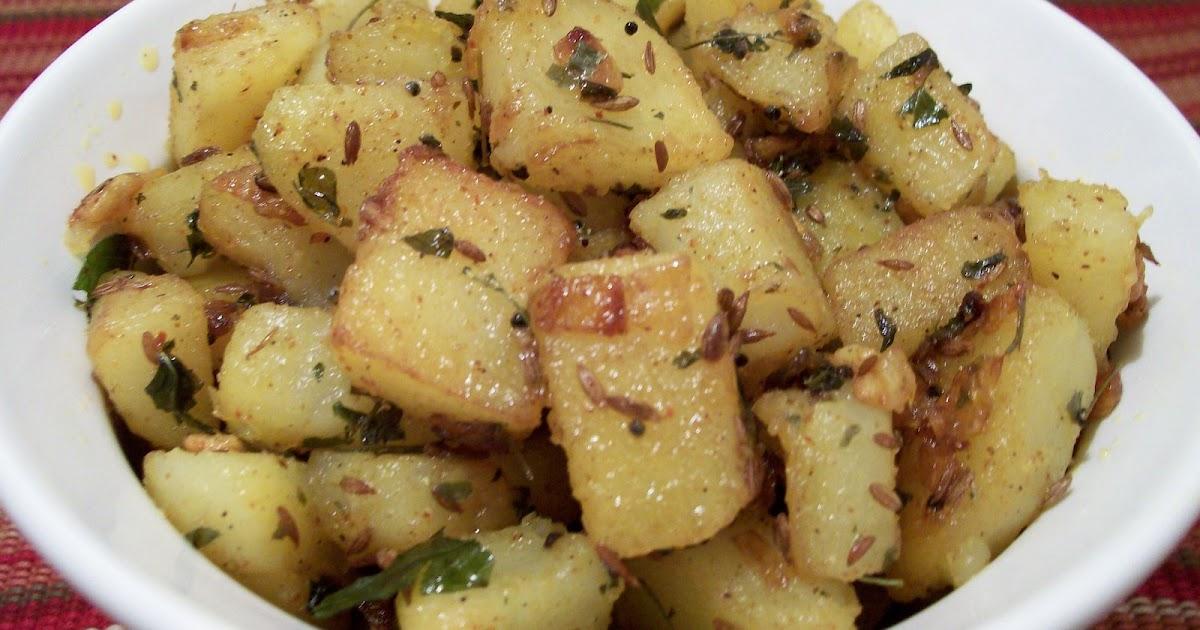 DELICACIES: Aloo-Jeera-Methi (Potato-Cumin seeds-Fenugreek ...