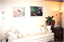 Our Comfy Couch ~ Welcome to Flamingo's Hideaway
