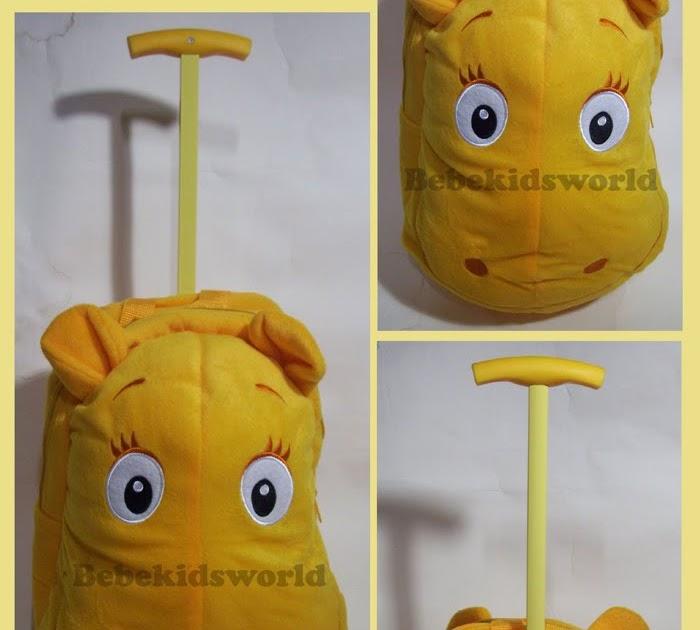 Www Bebekidsworld Com Backyardigans Trolley Backpack