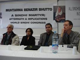 wsc uk event on Benazer Bhutoo