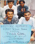 Mehran University of Engineering students Protest to hand over Thar Coal Federal Govt: