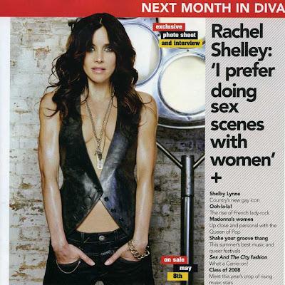 rachel shelley gay