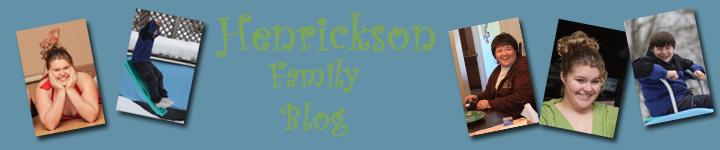 Henrickson Family Blog