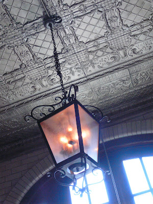 The Chicago Firehouse Restaurant Original Tin Ceilings