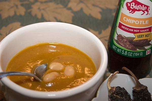 Family Nutritionist: Chipotle and Red Hubbard Squash Soup