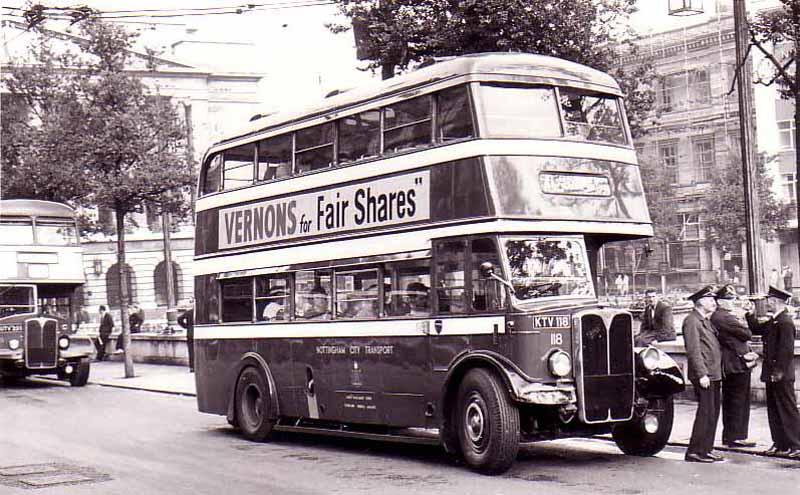 [Nottinghamshire, Nottingham Bus 1950]