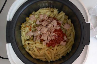 Se añaden el resto de ingredientes