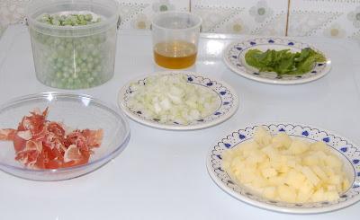 Ingredientes de la receta