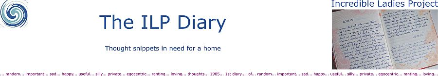 Incredible Ladies Project - Diary