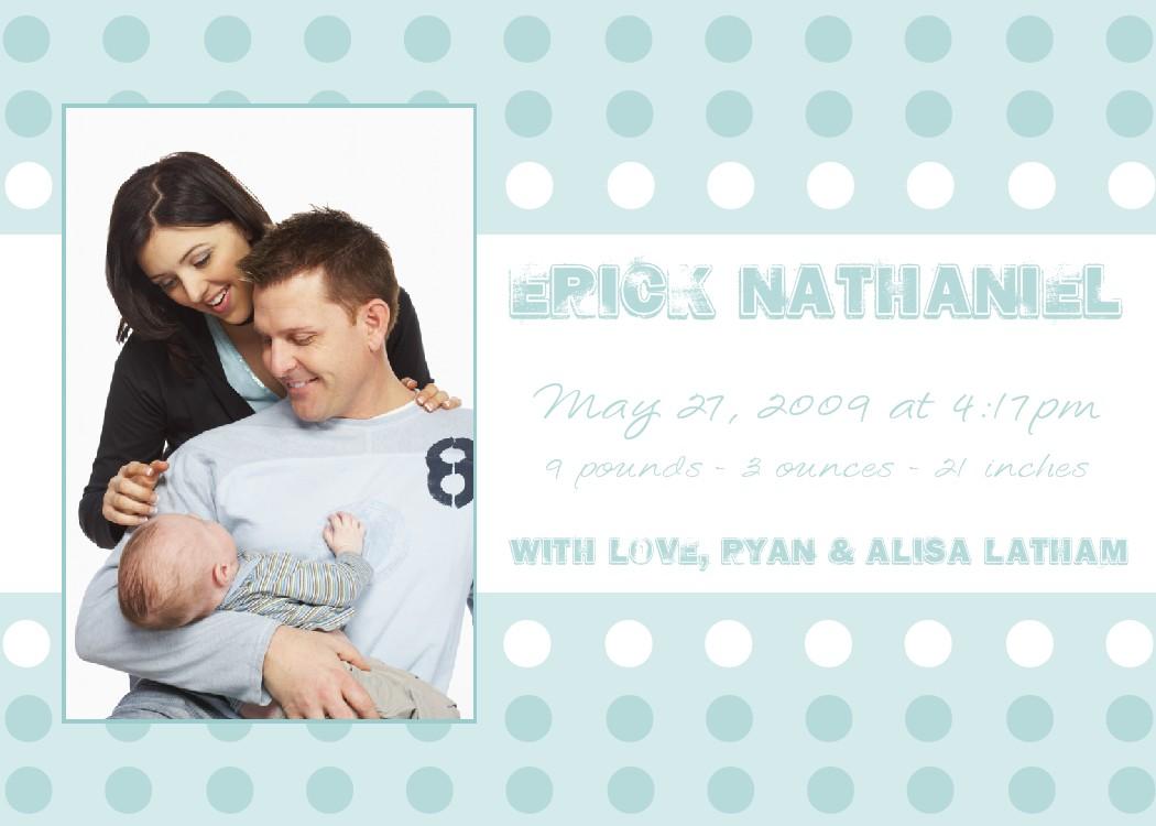 Bear River Photo Greetings: Bouncing Baby Boy Adoption and ...