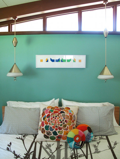 Whimsical World of Laura Bird: Colorful Bedrooms - photo#37