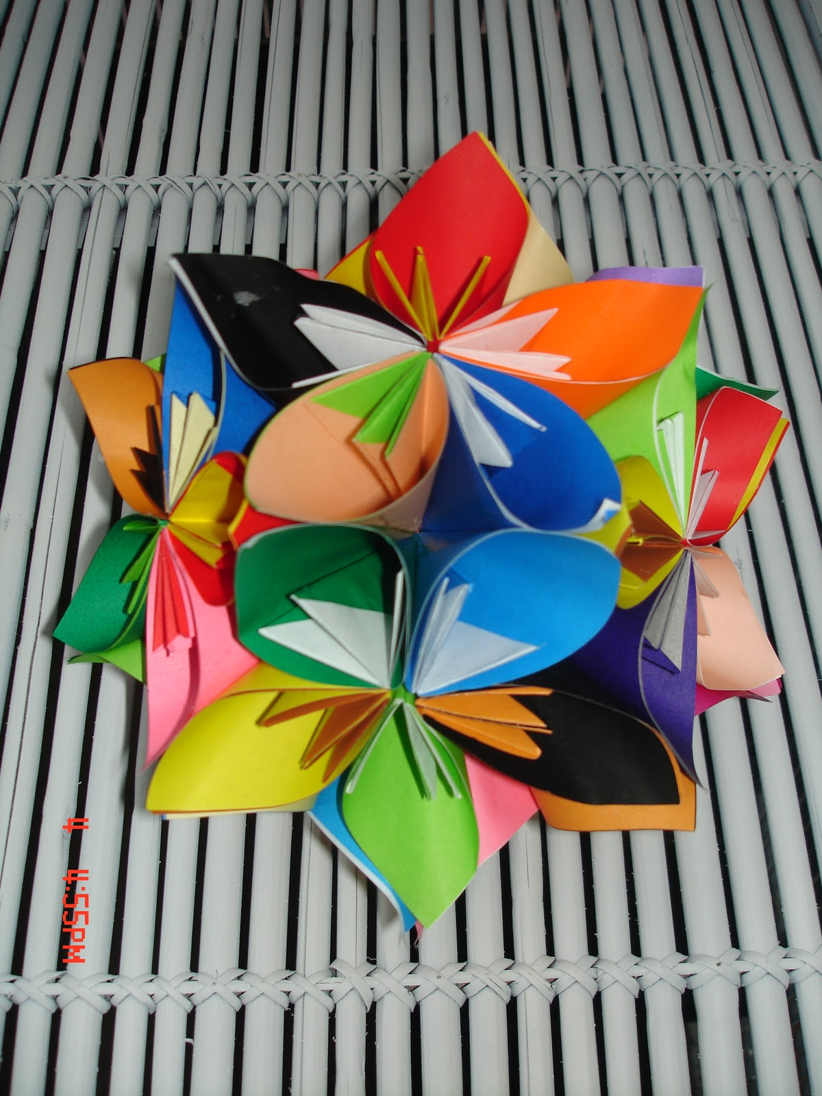 Beautiful Flowers 2019 Origami Flower Ball Beautiful Flowers