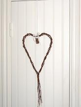 Hjärta på skafferidörren