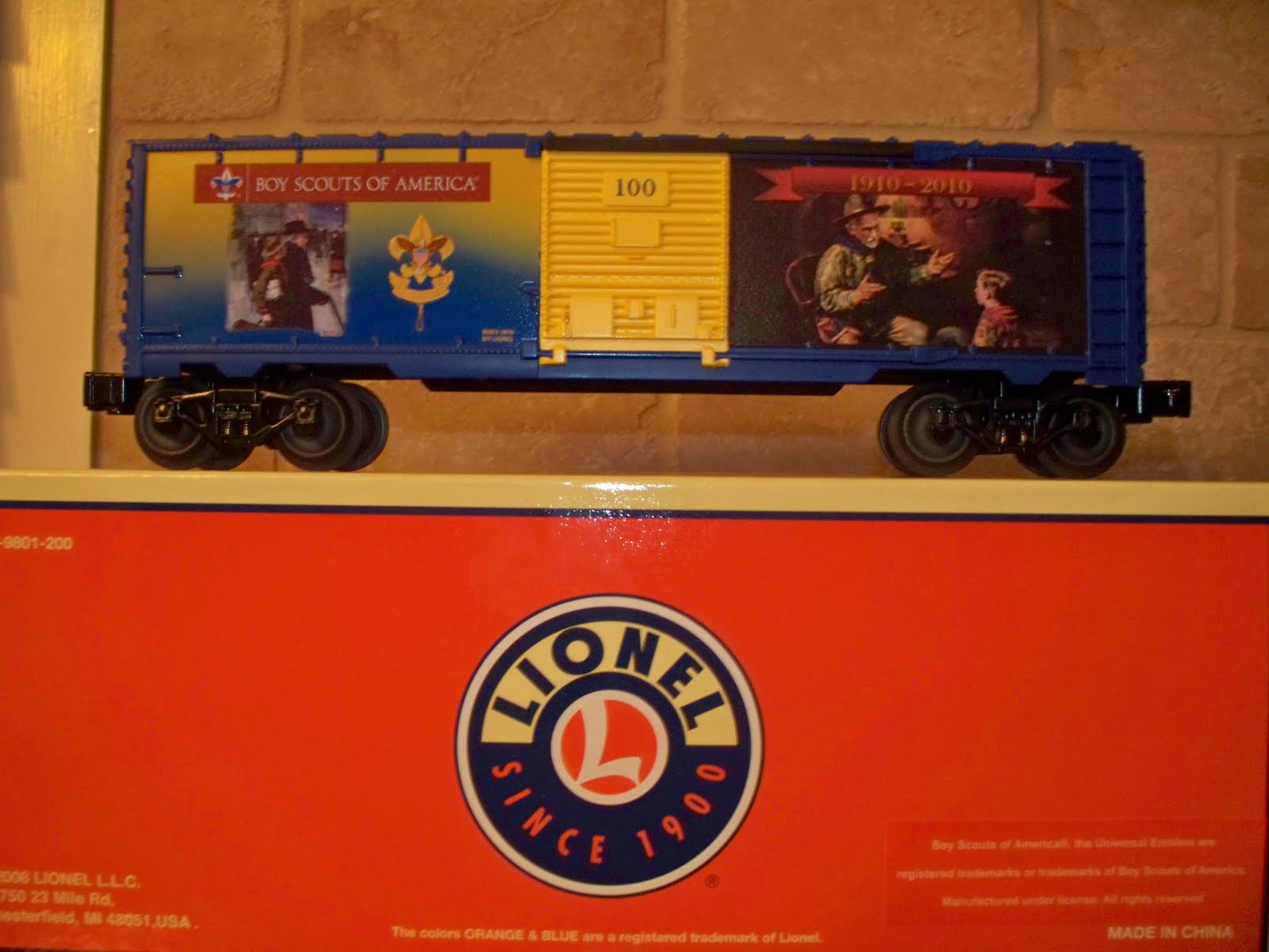Boy Scout Troop 466 NCAC: BSA 2010 - Lionel Trains (The ...