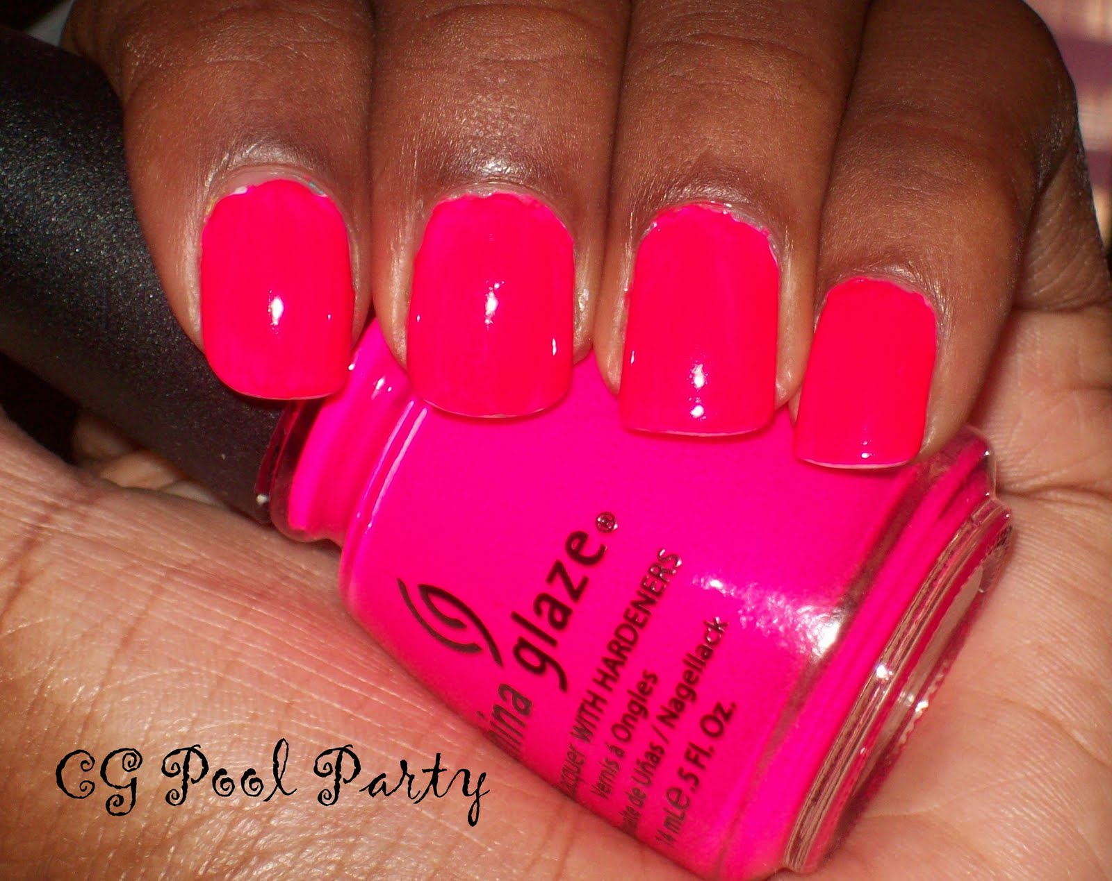 China Glaze Pool Party Sun Worshiper Nailicious