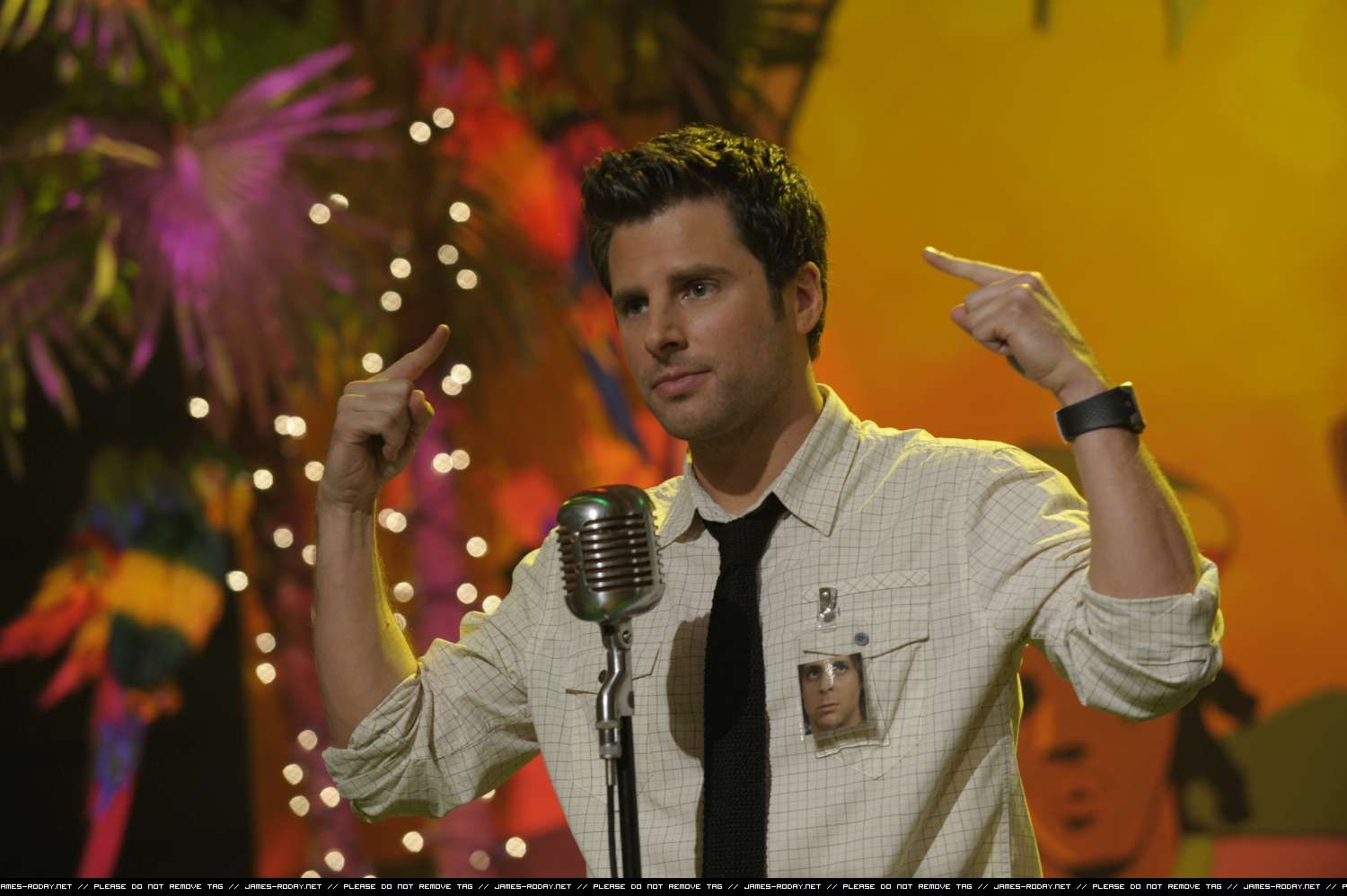 James Roday As Shawn Spencer From The TV Show Psych