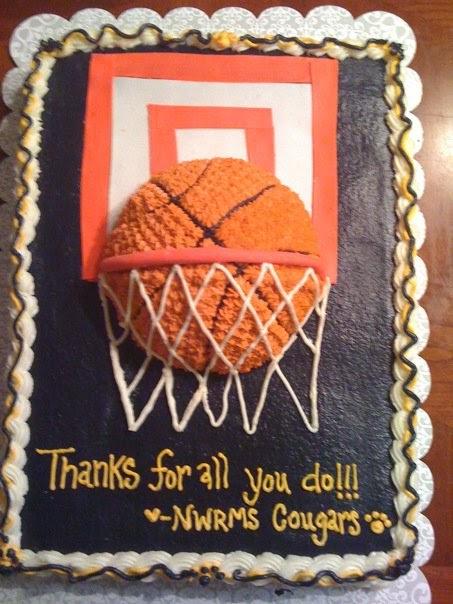 Tumiticklers Basketball Cake