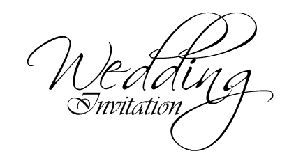 Wedding Invitation Logos   PaperInvite