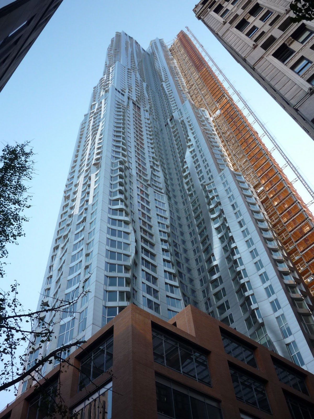Tallest Residential Building Nyc The Newcomer On Spruce Street Frank Gehry 39s Contribution