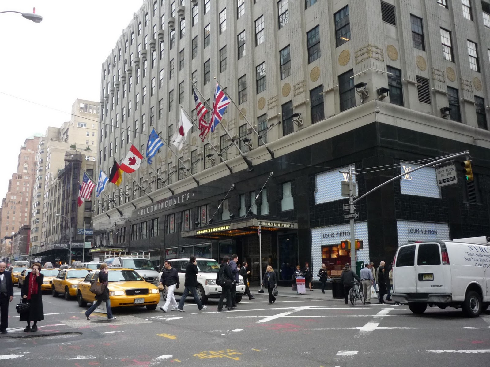 Bloomingdales Flagship Store 1000 Third Avenue Pictured On Lexington Side