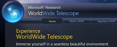 World Wide Telescope - Click here