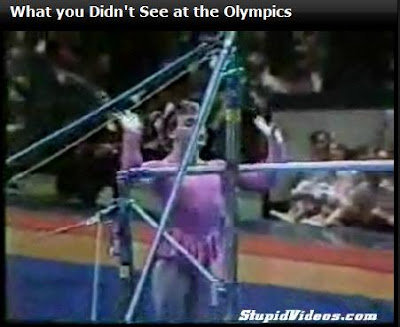 What you didn't see at the Olympics