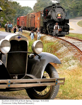 Fantastic Old Cars and Steam Loco's
