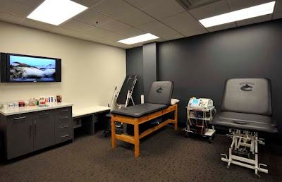 Canucks Physiotherapy Room