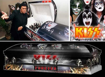 The KISS Kasket and Gene Simmons
