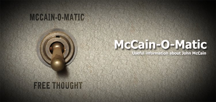McCain-O-Matic