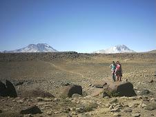 Llegando al Cerro Enladrillado