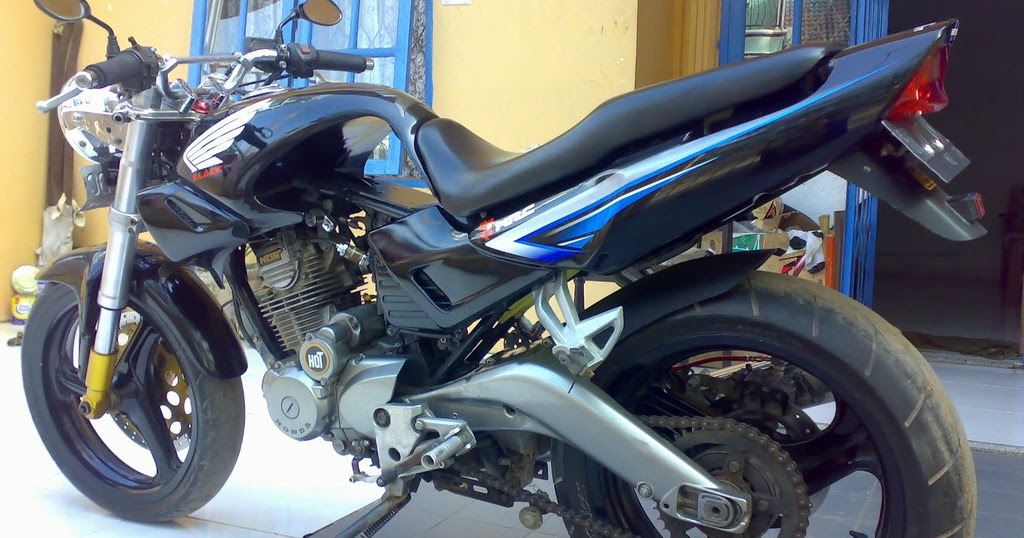 Modification Motor: Modifikasi Honda Tiger 2000 Street Fighter