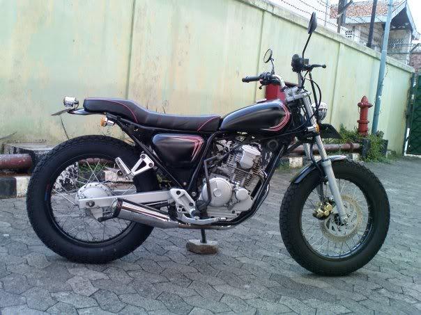 Modifikasi Motor Yamaha Scorpio Z Japanese Style