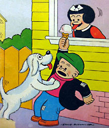 Nancy and Sluggo Cartoons Character