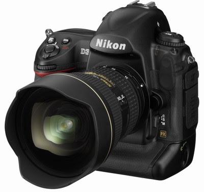 Confronto Canon Eos-1D Mark3 e Nikon D3