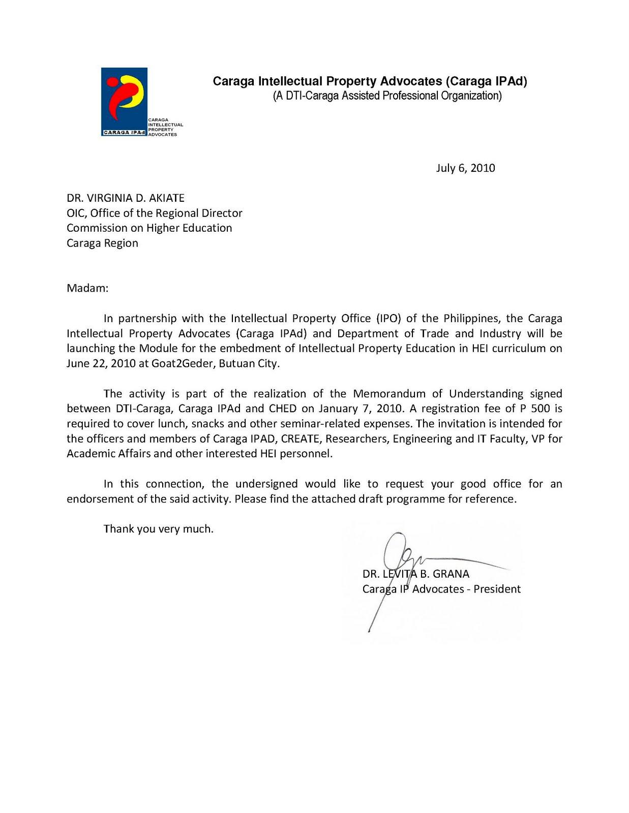 Caraga IP Advocates: 2010
