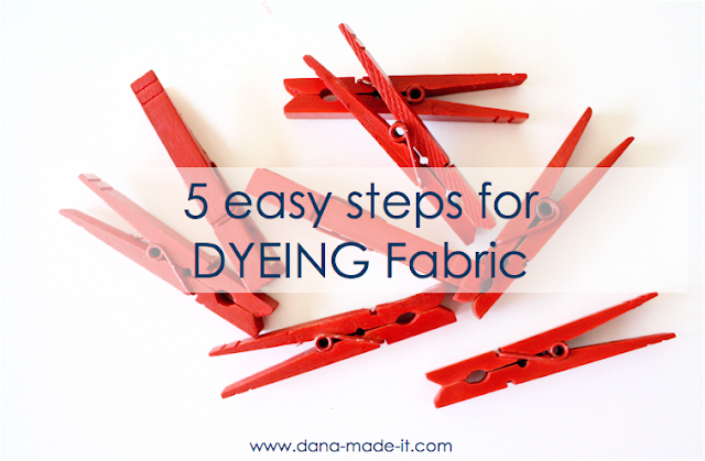 Fabric Dyeing – MADE EVERYDAY