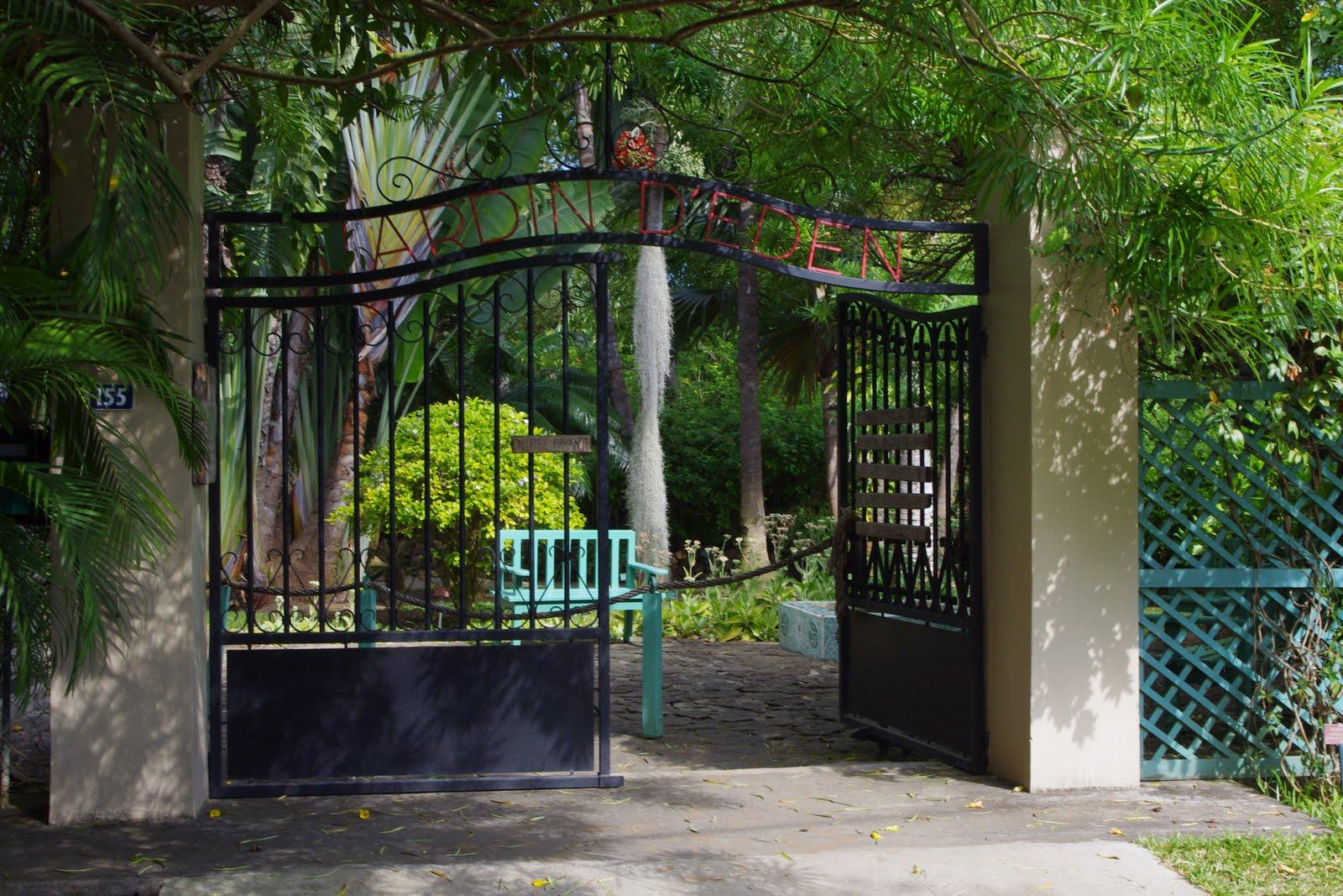 Ben Et Po A La Reunion Visite Au Jardin D Eden