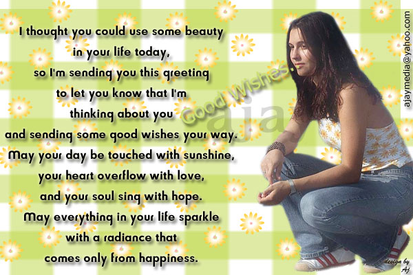 Best Wishes....