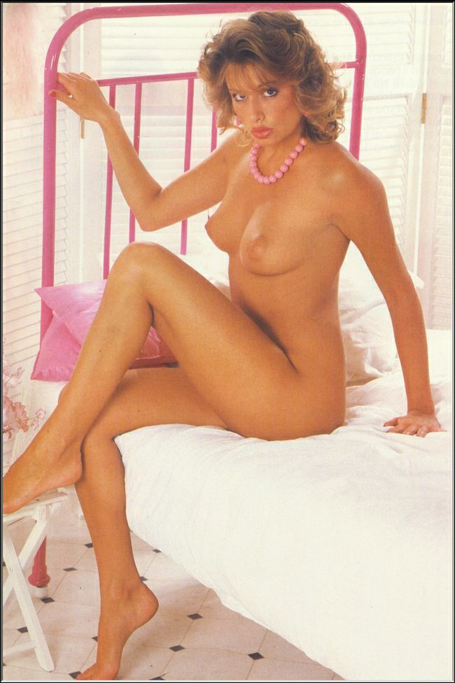 Vintage Karen Thornton Posed In Mayfair Vixen 1