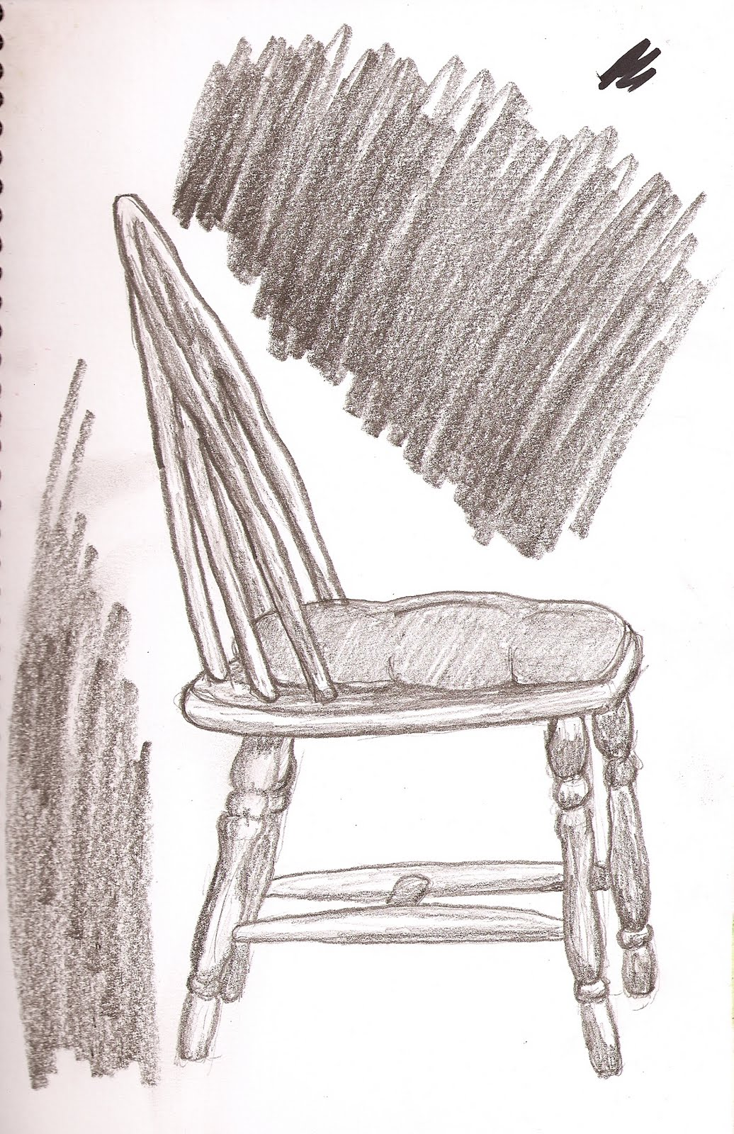 Loren Johnson Sketch Chair