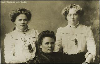 Sarah, Sophia and Violet Cosstick