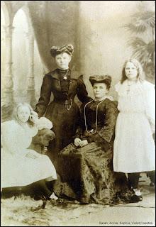 Sarah, Annie, Violet and Sophia Cosstick