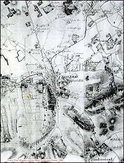 Coldharbour Farm in 1819