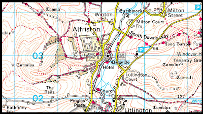 Alfriston Map